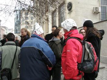 протестът днес - още една снимка