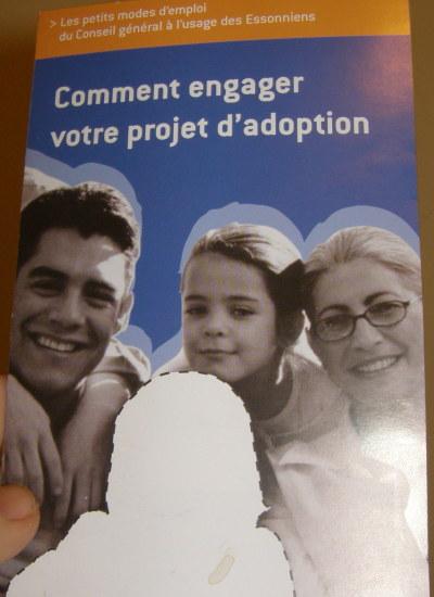 френска брошура