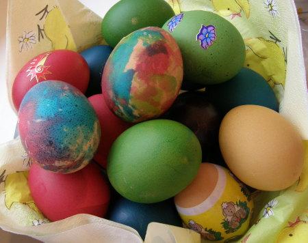 великденските ни яйца :)