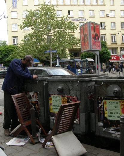 снимка от днес, площад Гарибалди, София
