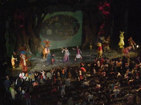 финална сцена в Рождения ден на Мечо Пух