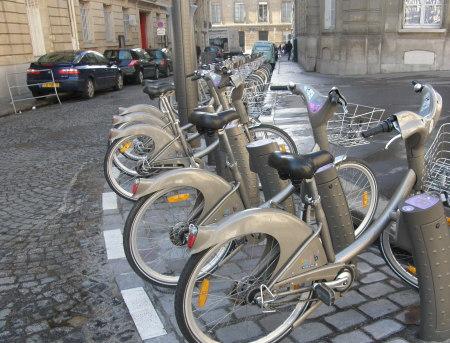 колела в Париж