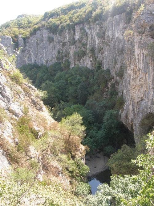 водопада на река Негованка
