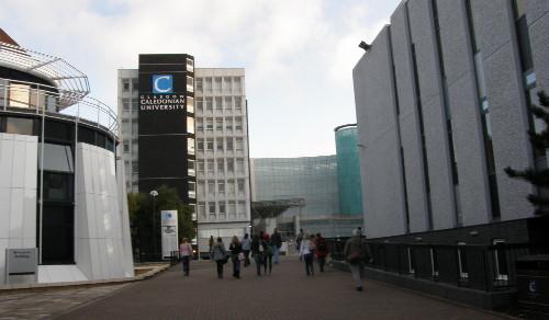 снимка на Каледонския университет в Глазгоу