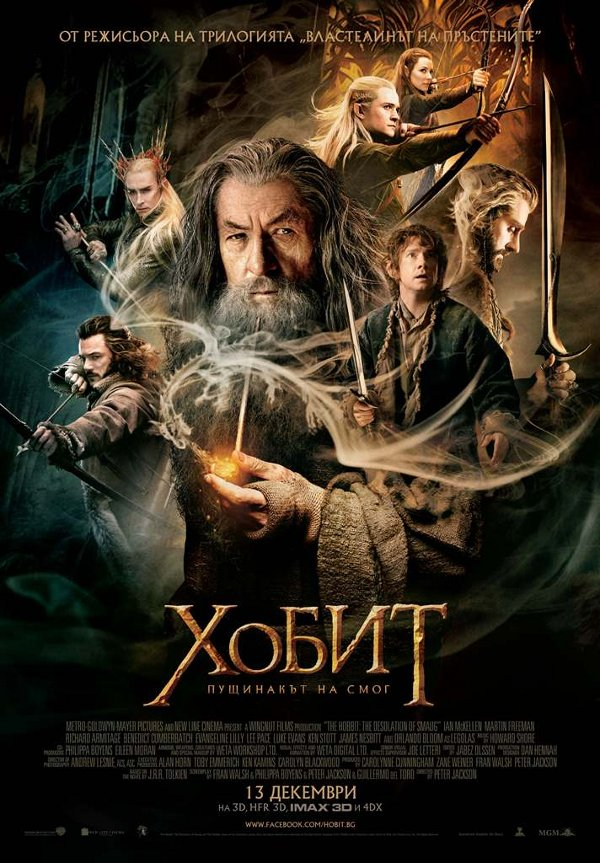 Poster BG The Hobbit The Desolation of Smaug