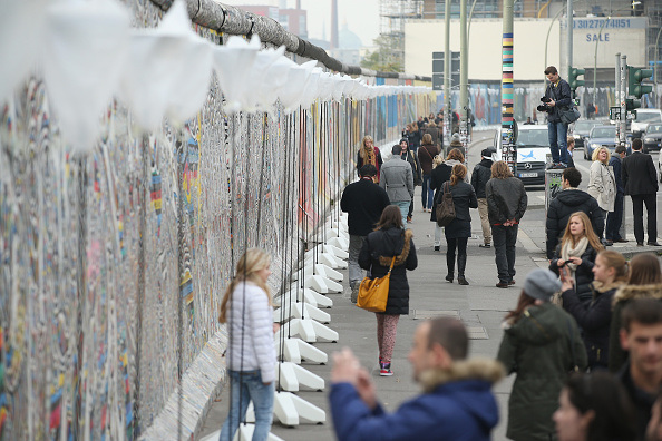 Berlin Prepares For 25th Fall Of The Wall Anniversary