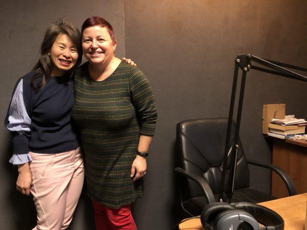 Ким Тхуи в студиото на АртКаст, дек 2019